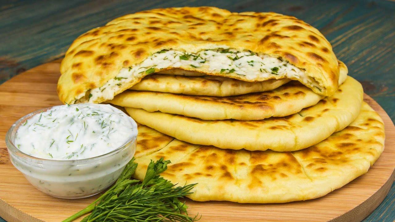 Рецепт хычины с картошкой и сыром пошагово