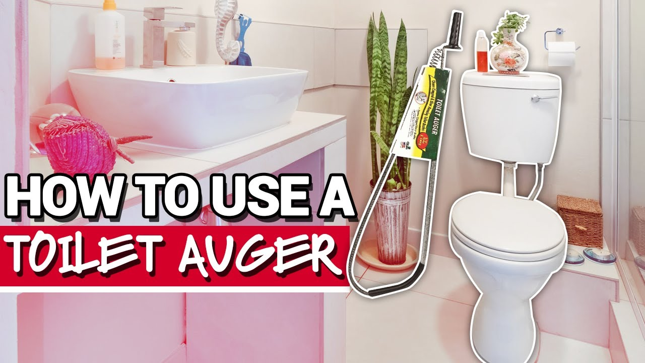 how to use a toilet auger ace hardware