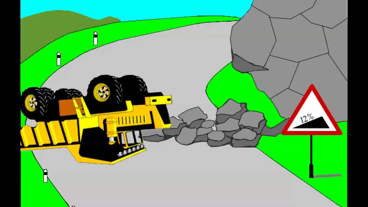 Учебный фильм по БДД - Действия водителя при чрезвычайных обстоятельствах