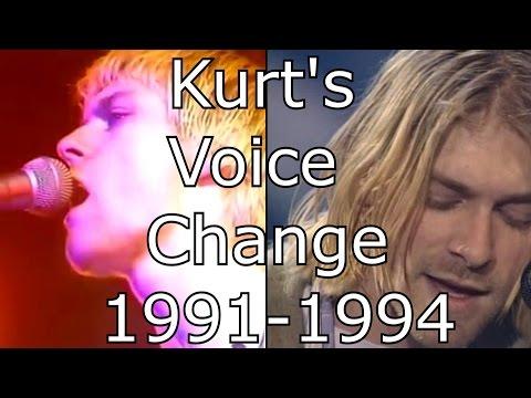 Nirvana  On A Plain  Kurts Voice Change 19911994  Mix