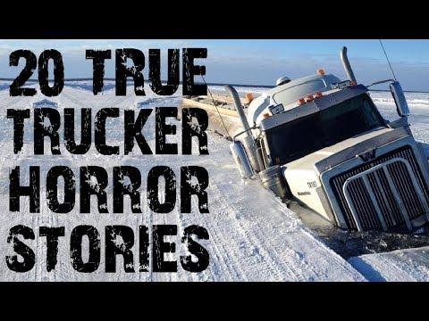 20 TRUE Freaky & Terrifying Trucker Horror Stories from Reddit | (Scary Stories)