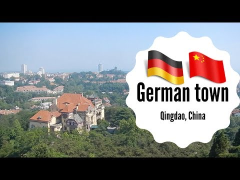 German town, Qingdao, China