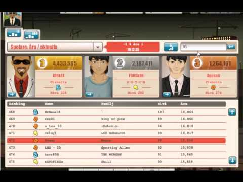 GoodGame Mafia level 98 - YouTube Goodgame Gangster