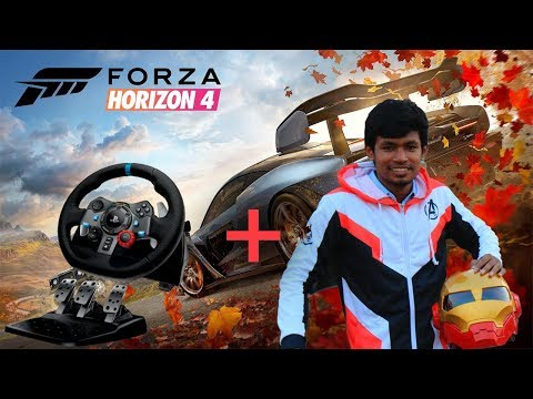 Forza Horizon 4 With Steering Wheel For 1st Time | Tamil Gamers