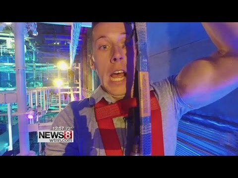 Cruisin' Connecticut – Experiencing the world's largest indoor ropes course!