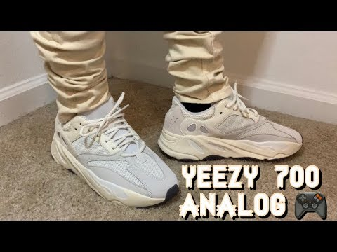 9b7cae5af18 Yeezy Boost 700 Analog On Feet Review - YouTube
