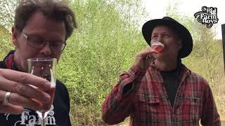 Andersen Winery - Jomfruhummer på Elmsfeuer Rabarber Sec., en skøn dag