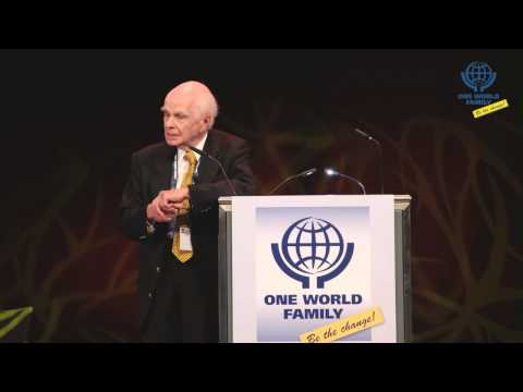 Ervin Laszlo on One World Family conference in Stuttgart