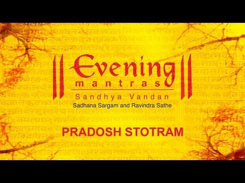 Pradosh Stotram   Evening Mantras   Ravindra Sathe   Devotional
