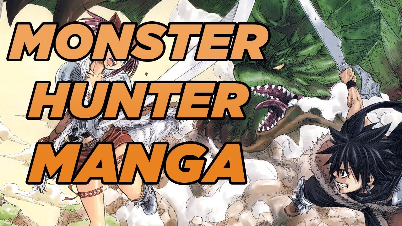 An Official Monster Hunter Manga Monster Hunter Orage Game