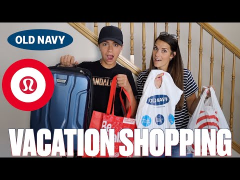 LAST MINUTE EMERGENCY VACATION SHOPPING HAUL | OUR FAMILY VACATION TRAVEL PLANS UNEXPECTEDLY CHANGED