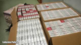 Kontrola drogowa zakończona zabezpieczeniem 70 tys. sztuk papierosów bez akcyzy