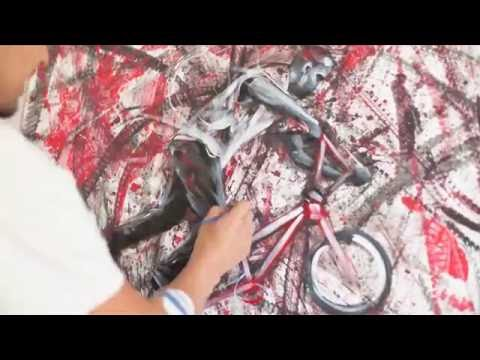 BIKE PAINT BRUSH / BMX & Graffiti Artwork / Berlin