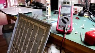 Brak podświetlenia - Naprawa  TV LED 42