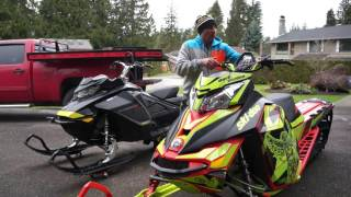 Ski Doo Summit XM and Gen4 Sled  Parts and Accessories