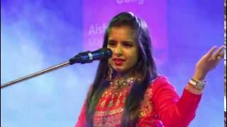 Aishvariya Majumdar and Ankit Trivedi Live at Baroda , Gujju Jalso 2015