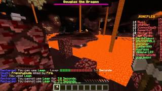 RUNNING FROM THE DRAGON... AGAIN! Minecraft Dragon Run with The Pack!