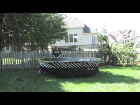 Our Springfree Trampoline Assembly