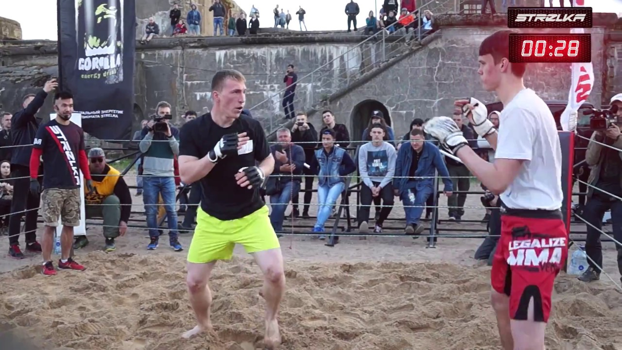 220 VOLTS gegen den Thai Boxer !!