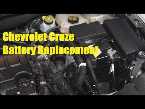 Chevrolet Cruze Battery Replacement - The Battery Shop