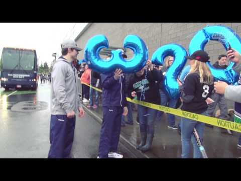 Fans welcome WHL Champion T-Birds Back to ShoWare Center