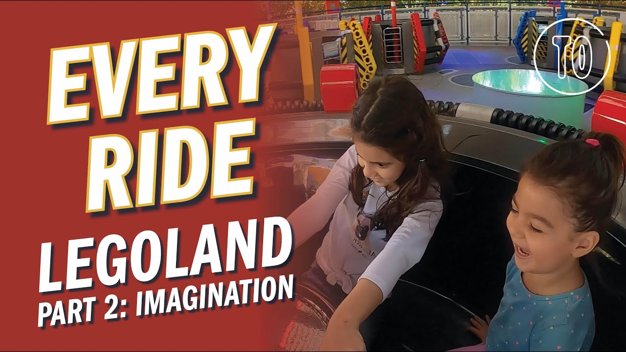 LEGOLAND Themepark PART 2: IMAGINATION (POV)