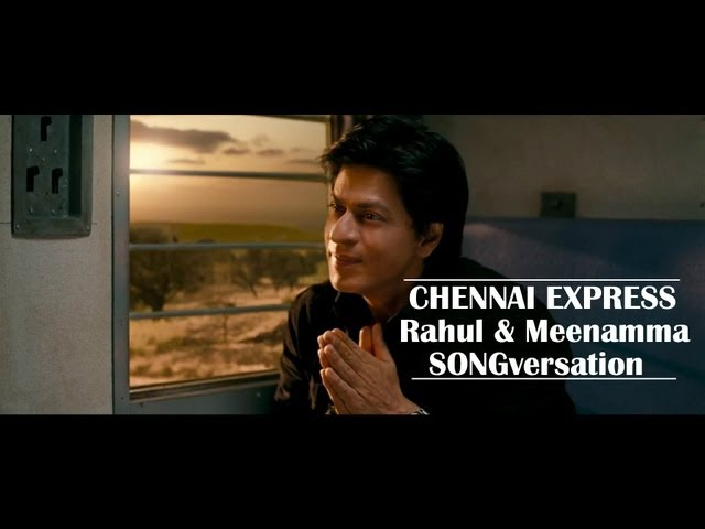 Chennai Express I SRK & Deepika communicate in songs I Movie Scene Travel Video