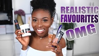 REALISTIC CURRENT FAVOURITES | Skin care, hair, lips & more!