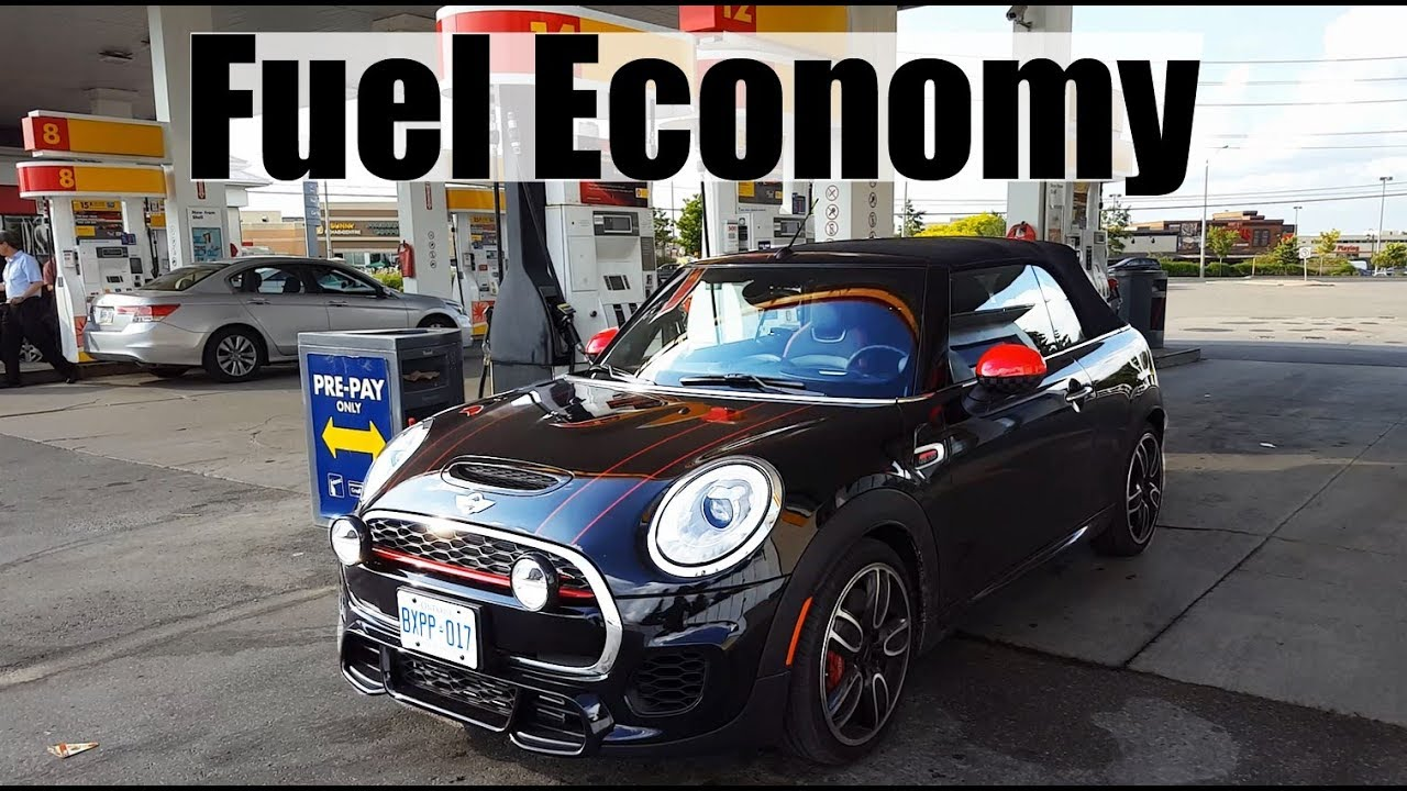 2018 mini cooper - fuel economy review + fill up costs - youtube