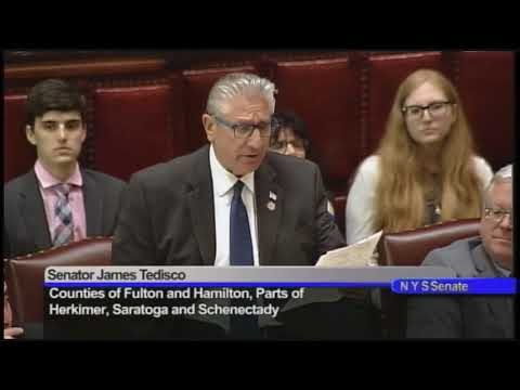 """Tedisco: Senate Passes """"Jacobe's Law"""" to Notify Parents About Bullying"""