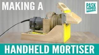 Making a Handheld Mortiser - Festool Domino style