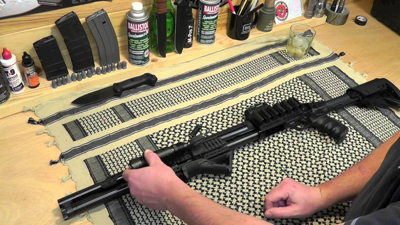 Mossberg 500 Project: UTG Tactical Xenon Flashlight