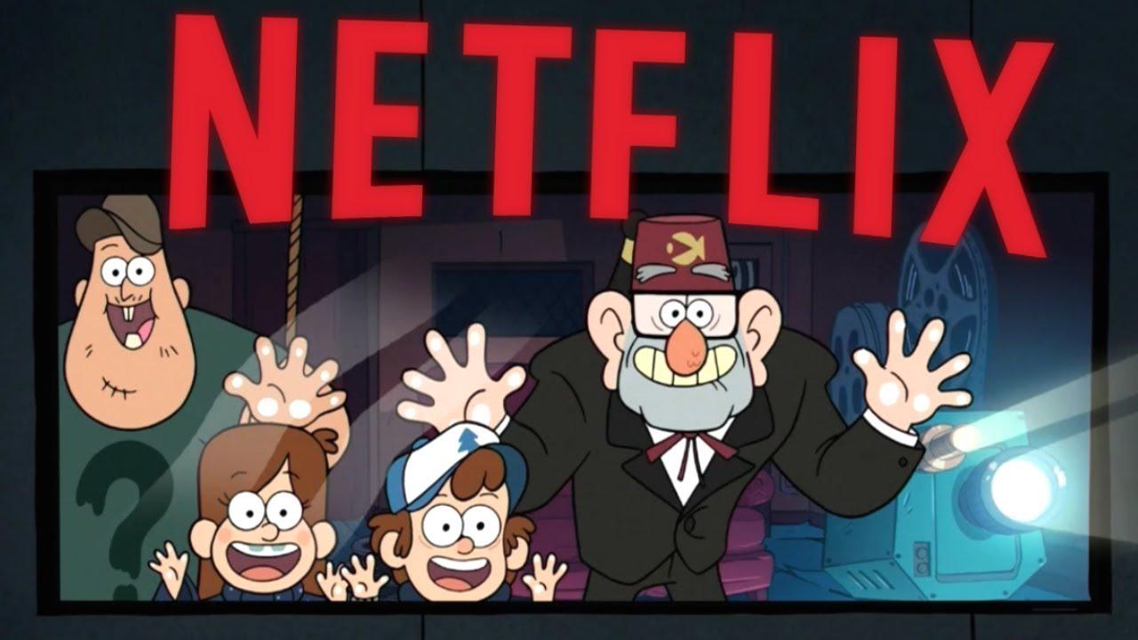 Gravity Falls Netflix