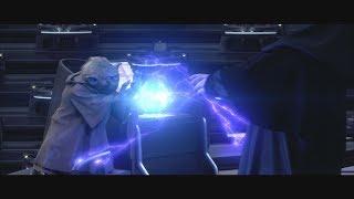 Йода VS Дарт Си́диус \ Звёздные войны: Эпизод 3 – Baby Yoda Месть Ситхов