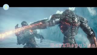 Pacific Rim 2: Uprising Best Fight Scenes | Kaiju vs Jaeger Final Battle [HD] - GeekRepublic