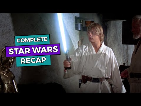 STAR WARS – Complete Recap up to The Rise of Skywalker!
