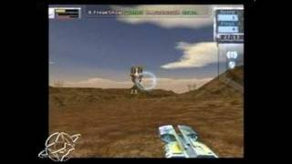 Tribes: Aerial Assault PlayStation 2 Gameplay