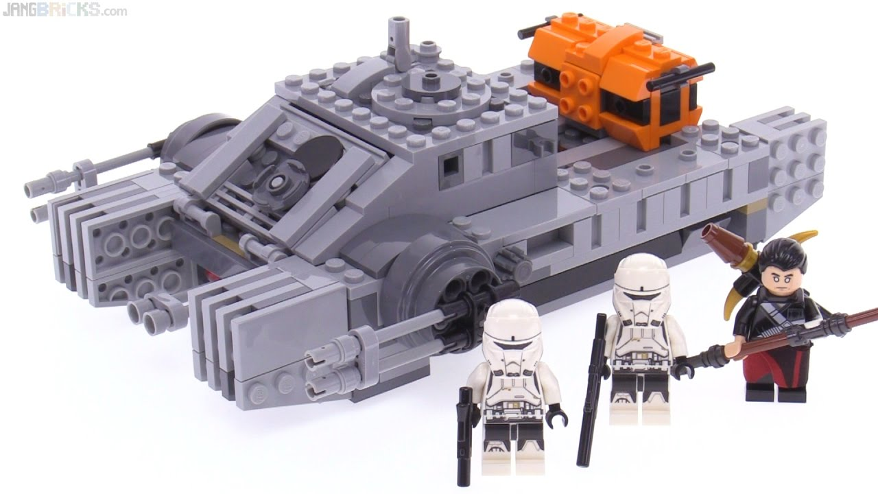 Lego Star Wars Imperial Assault Hovertank Review 75152 Youtube 75157 Captain Rexamp039s At Te
