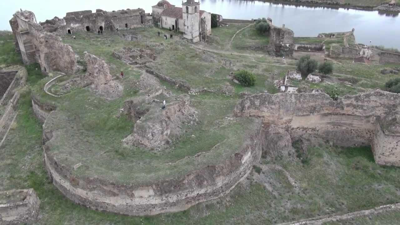 Castelo de Juromenha, Imagens Aéreas. - YouTube