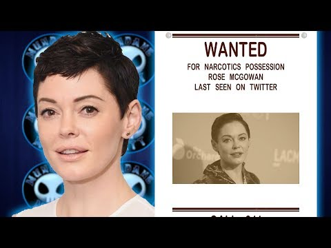 Download Youtube: Arrest warrant for Rose McGowan issued over Drug charges