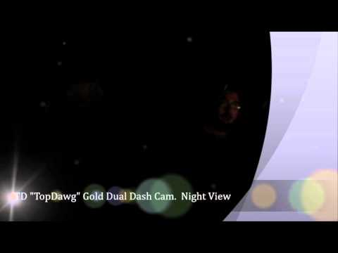 Top Dawg Gold Dual Dash Cam