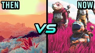 No Man's Sky - Then Vs Now - Evolution Of No Man's Sky | The Leaderboard