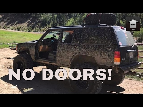 JEEP XJ DOOR REMOVAL KIT | PREP FOR WHEELING