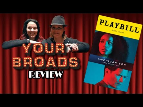 AMERICAN SON On Broadway - OUR  REVIEW  (now On NETFLIX!)