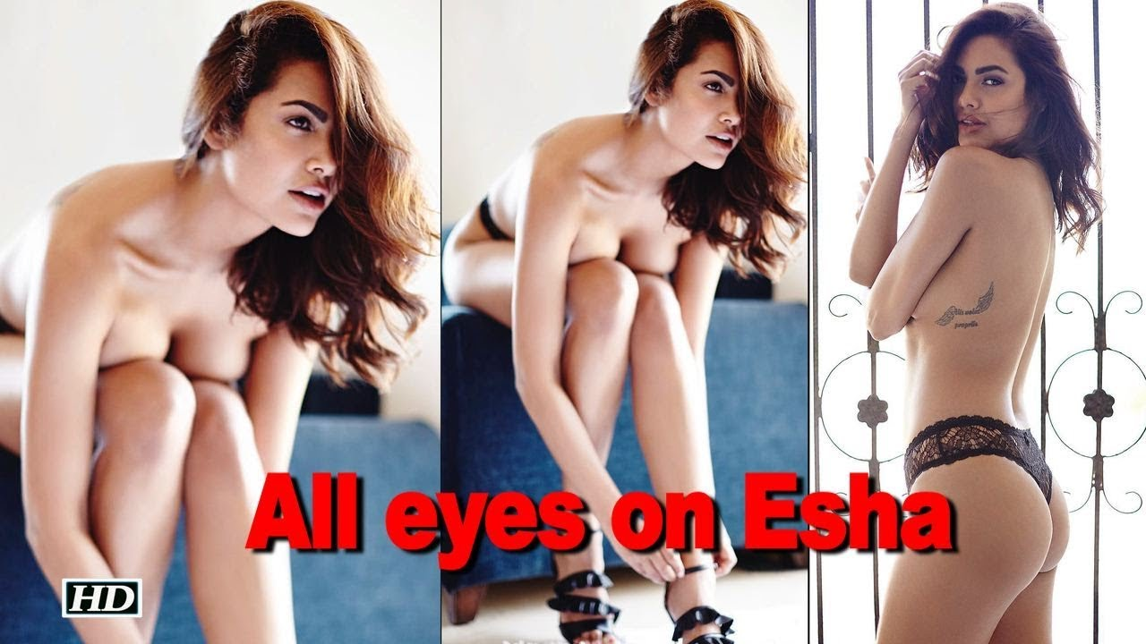 Esha Gupta's Latest Nude Photoshoot Goes Viral