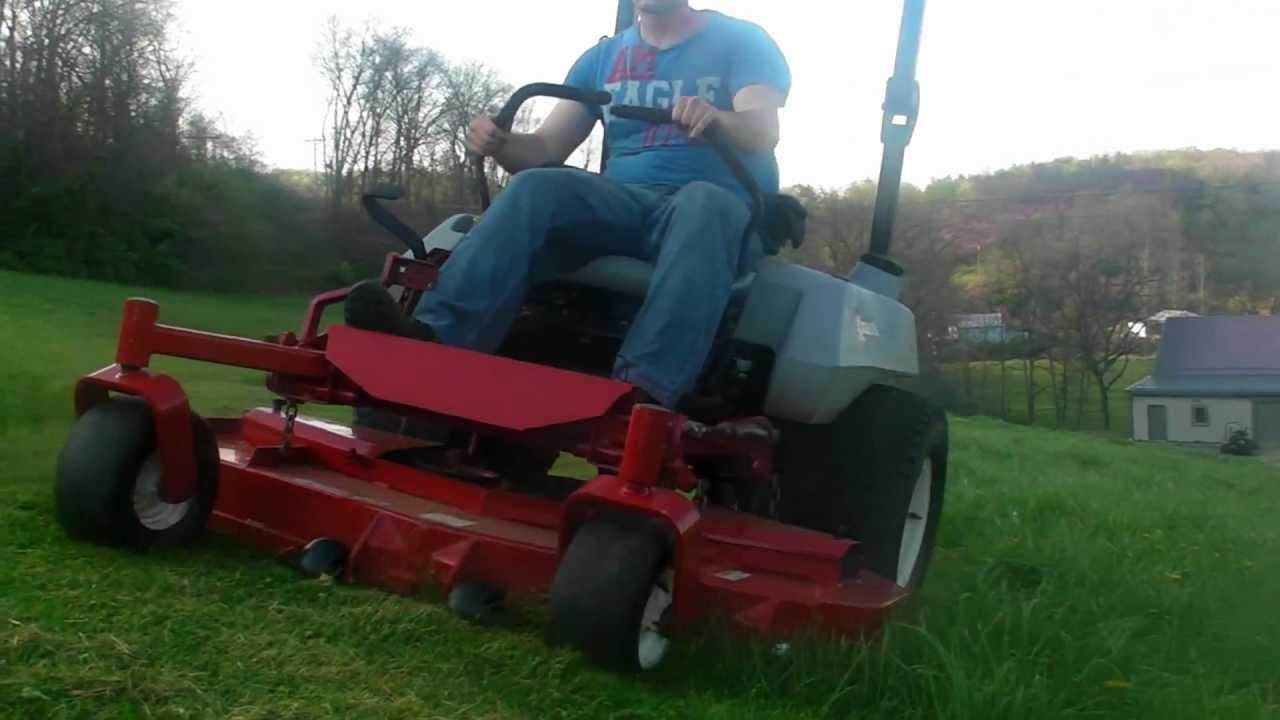Exmark 5 60 Quot Lazer Z Zero Turn Mows Some Of A Big Field