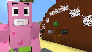 minecraft spongebob episode 3 halloween decorating minecraft roleplay