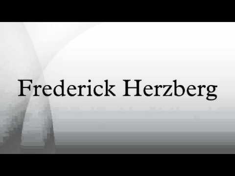 Who is frederick herzberg