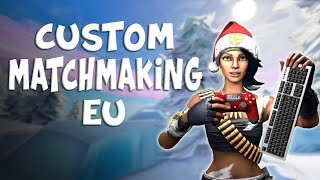 (EU) FORTNITE CUSTOM MATCHMAKING LIVE | GIRL GAMER | VOTE FOR SOLO/DUO/SQUADS | (ALL PLATFORMS)
