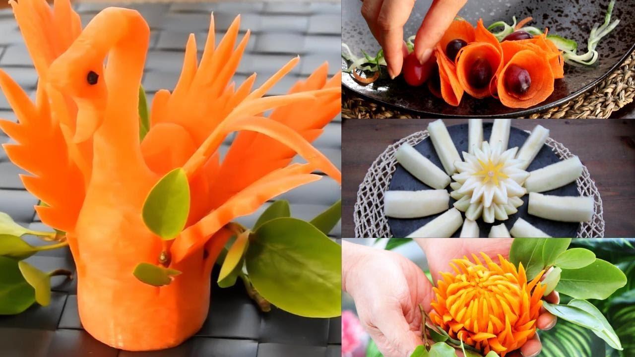 5 Creative Ideas for Food Decoration - Food Garnishes